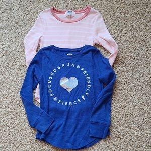 Girls thermal tops